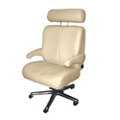 Big and Tall Office Chair in Genuine and Faux Leather, 50064