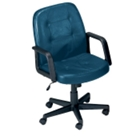 Leather Mid Back Conference Chair, 50342