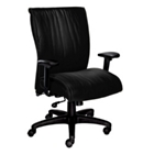 High-Back Leather Executive Chair, 50486