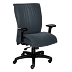 High-Back Leather Executive Chair, 50486S