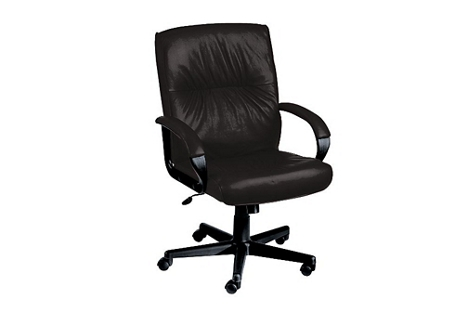 Mid Back Leather Executive Chair, 50489