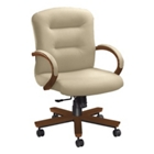 Mid Back Desk Chair, 50573