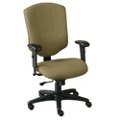 High-Back Fabric Chair, 50613