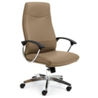 Intrepid High-Back Executive Vinyl Chair, 50687