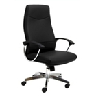Intrepid High-Back Executive Leather Chair, 50689