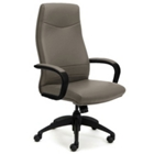 Intrepid High-Back Executive Vinyl Chair, 50691