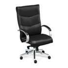 High-Back Executive Leather Chair, 50743