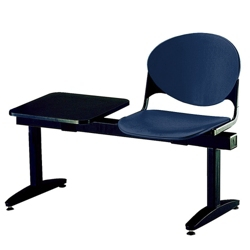 One-Seat Beam Bench with Side Table, 50745