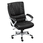High-Back Leather Executive Chair, 50755