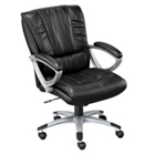 Mid-Back Leather Chair, 50756