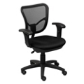 Petite Mesh Chair with Arms, 50786