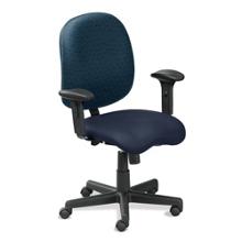 Ergonomic Task Chair in Anti-Microbial Vinyl, 50797