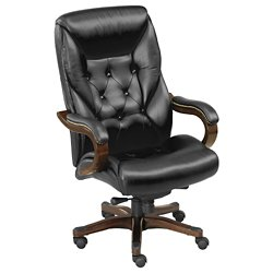 Kingston Collection Leather Executive Chair