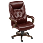 Kingston Collection Executive Chair in Faux Leather, CD06323