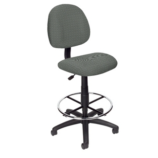 Armless Stool with Foot Ring, 50849