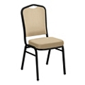 Armless Stacking Fabric Banquet Chair , 51006