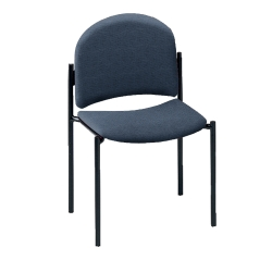 Armless Fabric Stackable Chair, 51114