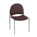 Armless Heavy-Duty Fabric Stackable Chair, 51119