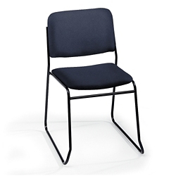 Heavy-Duty Fabric Armless Sled Base Stack Chair, 51120