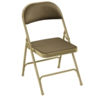 Upholstered Folding Chair, CD02571