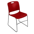 Stack Chair with Polypropylene Seat and Back without Glides, 51214