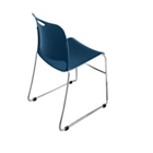 Poly Stack Chair with Glides, CD02574