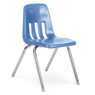 """Classic Stack Chair 12"""" Pre-K to K, 51236"""