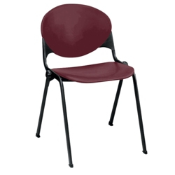400lb. Capacity Heavy-Duty Plastic Stack Chair, 51304
