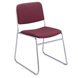 Chrome Sled Base Stack Chair, 51305