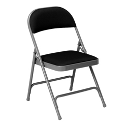 Folding Chair with Vinyl Upholstery, 51327