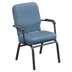 Heavy Duty Vinyl Stack Chair with Arms, 51360