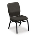 Big and Tall Armless Stack Chair in Fabric, 51365