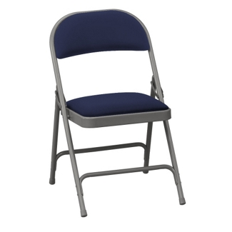 "Oasis Fabric Folding Chair with 1-3/8"" Thick Seat, 51367"