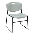 Armless Plastic Stack Chair, CD02066