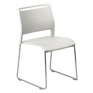 All-Purpose Poly Back and Seat Stack Chair, 51374