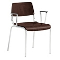 Molded Wood Guest Chair, 51520