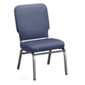 Designer Upholstery Armless Big & Tall Wingback Stack Chair, 51544