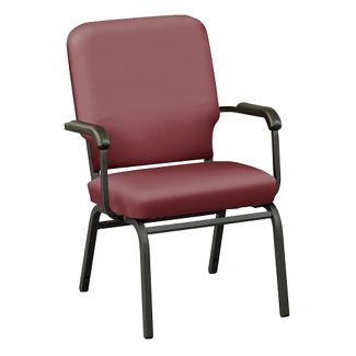 Designer Upholstery Big and Tall Wingback Stack Chair, 51546
