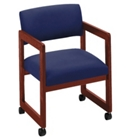Fabric Guest Chair with Arms, 52040