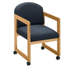 Fabric Guest Chair with Arms, 52041