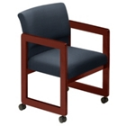 Guest Chair with Casters, 52042
