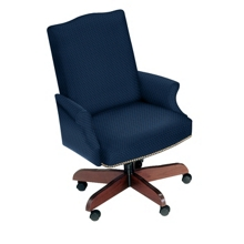 Traditional Executive Swivel Chair, 52084