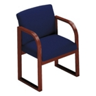 Fabric Sled Base Guest Chair, 52100