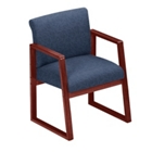 Sled Base Full Back Conference Chair with Arms, 52139
