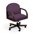 Executive Round Back Swivel Chair, 52146