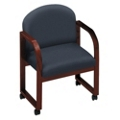 Designer Fabric Conference Chair with Arms, 52152