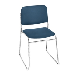 Standard Upholstery Armless Sled Base Stack Chair, 52182