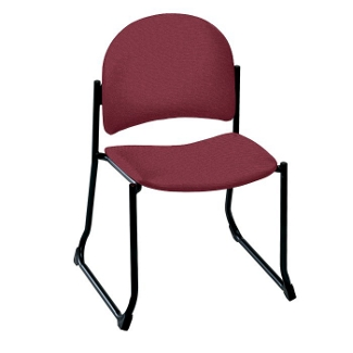 Armless Sled Base Stackable Chair - 400 lb Weight Capacity, 52186
