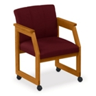 Tufted Conference Chair with Casters, 52313