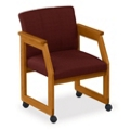 Angle Arm Conference Chair with Casters, 52315